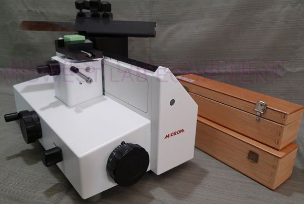 Refurbished MICROM HM 400 Microtome For Sale - DOTmed Listing ...